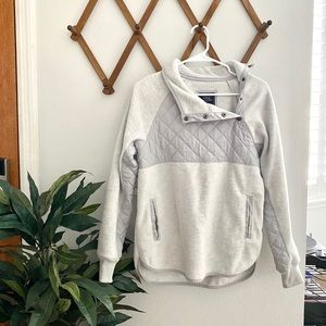 Abercrombie Quilted Fleece Pullover